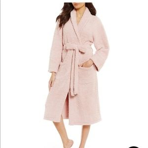 Barefoot Dreams Cozy Chic Pink Long Robe 1